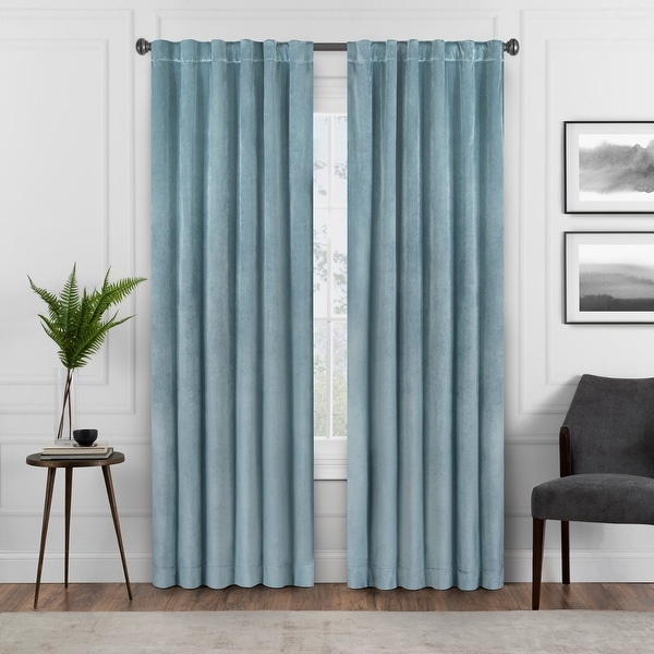 Eclipse Harper Velvet Absolute Zero Blackout Window Panel. Opens flyout.