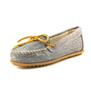 Minnetonka Canvas Moccasin Women  Moc Toe Canvas  Loafer