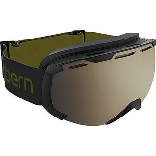 Bern Sawyer S Goggle - black w/ gold mirror lens