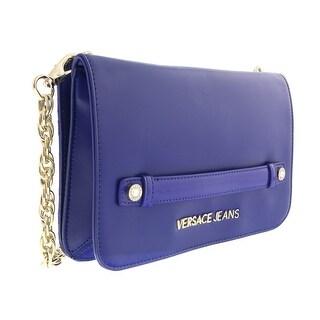 Versace EE1VOBBB5 E240 Blue  Clutch/Crossbody Bag - 10-6-1.5