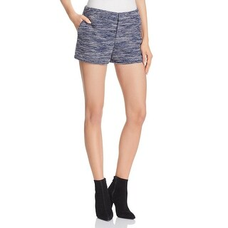 Joie Womens Shorts Metallic Knit