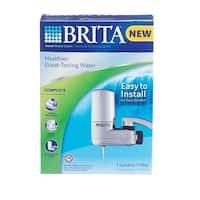 Brita 35618 Complete Faucet Filter System, Chrome
