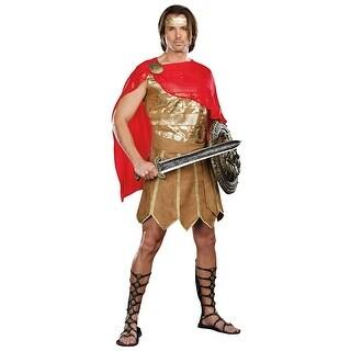Caesar Men's Costume - Gold