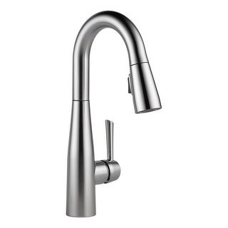 Delta 9913-DST  Essa Pull-Down Bar/Prep Faucet with Magnetic Docking Spray Head