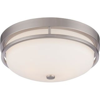 Nuvo Lighting 60/5486 Nevel 2 Light Flush Mount Indoor Ceiling Fixture - 13 Inches Wide