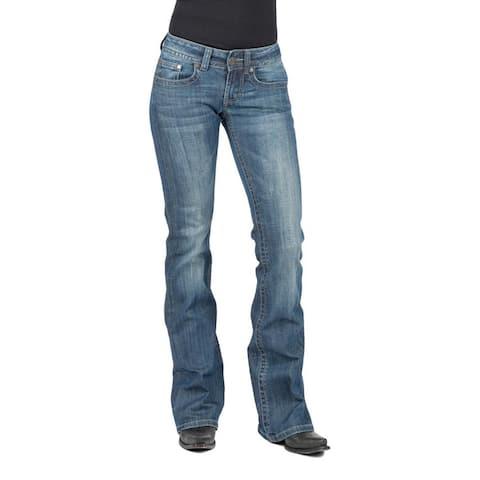 Stetson Western Denim Jeans Womens Bootcut Slim