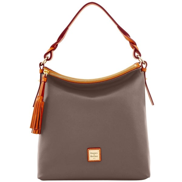 Dooney & Bourke Calf Small Sloan (Introduced by Dooney & Bourke at $268 in Sep 2016) - Taupe