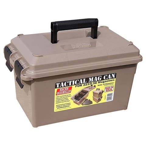 MTM Tactical Mag Can for 223 5.56 MAG holds 15 30-rd mag. Dark Earth