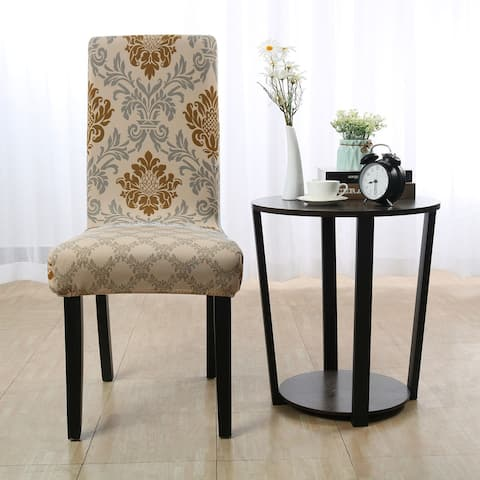 Stretch Chair Cover Vintage Style Slipcover Seat Protector - Multi-Color