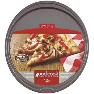 "Good Cook 04036 Non-Stick Pizza Pan, 12"""