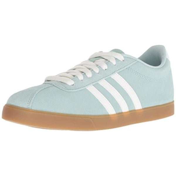 finest selection bcfe8 d88b6 Shop Adidas Women s Courtset Sneaker Ash Green Cloud White Ash Green - Free  Shipping Today - Overstock - 27122525