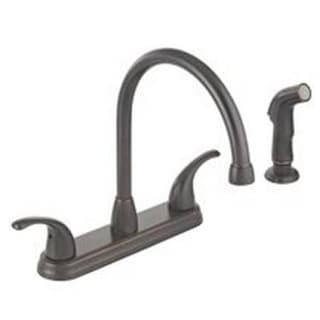 Mintcraft 67387-1127H2 Hi-Rise Kitchen Faucet/Spray, Two Handle