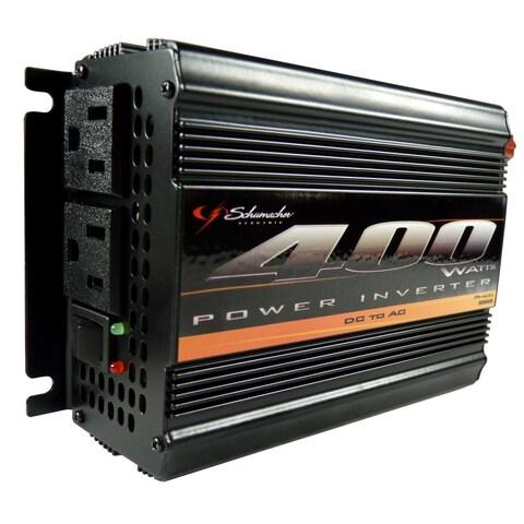Schumacher PI-400 DC To AC Power Inverter, 400 Watts