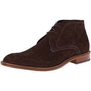 Ted Baker Mens Torsdi 3 Suede Ankle Chukka Boots - 8 medium (d)