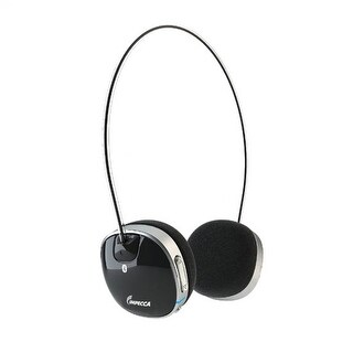 Impecca Bluetooth Stereo Headset with Built in Microphone - Black