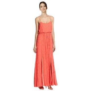 Needle & Thread Spaghetti Strap Beaded Slit Long Maxi Gown Dress - 4