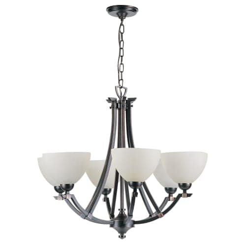 DVI Lighting DVP9326 6 Light Chandelier from the Key West Collection