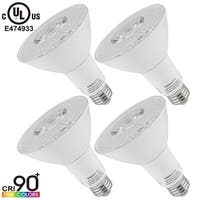 1PACK/4PACK LED PAR30 Light Bulb,10W 3000K Warm White/4000K Cool White/5000K Daylight, 850/870/880Lm, E26 Medium Base