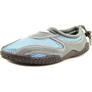 Shoe Shack 5998 Women Round Toe Canvas Gray Water Shoe