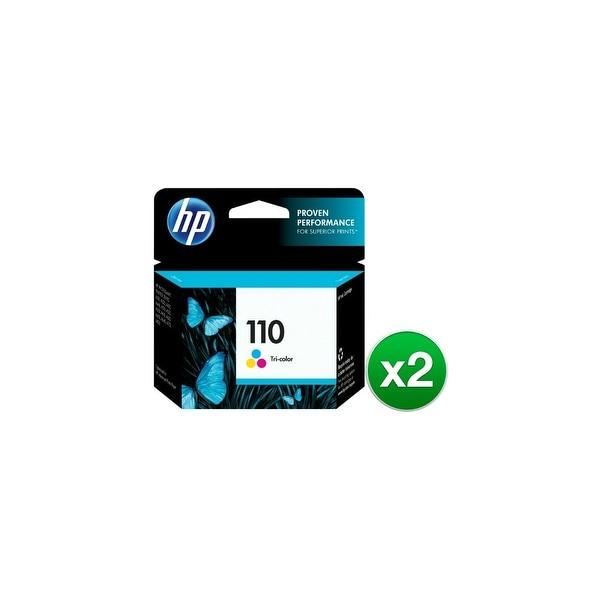 HP 110 Tri-color Original Ink Cartridge (CB304AN)(2-Pack)