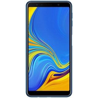 Samsung Galaxy A7 (2018) A750 64GB Unlocked GSM Dual-SIM Phone w/ Triple 24MP + 8MP + 5MP Camera