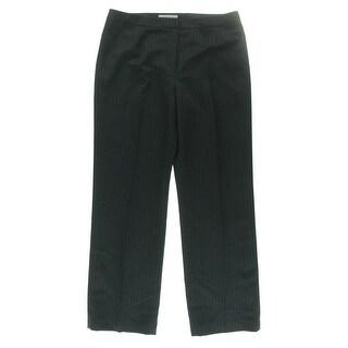 Kasper Womens Kate Pinstripe Classic Fit Dress Pants - 6