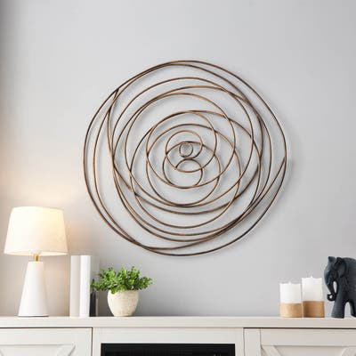 Grand Spiral Abstract Wall Decor