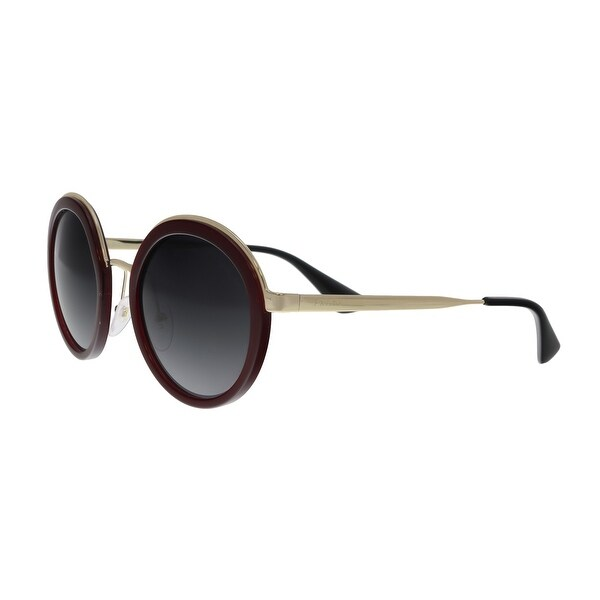 d6af9890d4b20 Shop Prada PR50T VHW-5W1 Maroon Round Sunglasses - No Size - Free ...
