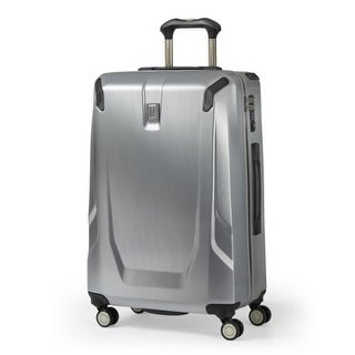 """Travelpro Crew 11 - Silver 25"""" Expandable Hardside Spinner w/ Dual Spinner Wheel System"""