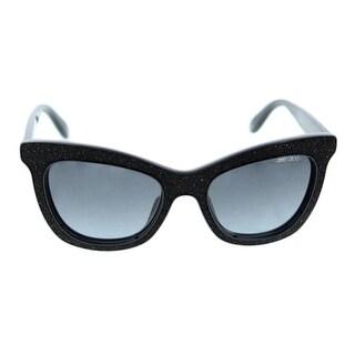 Jimmy Choo Womens Flash Swarovski Crystals Fashion Cat Eye Sunglasses