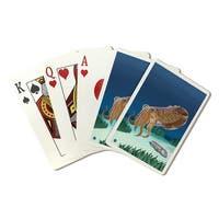 Cuttlefish - Lantern Press Artwork (Poker Playing Cards Deck)