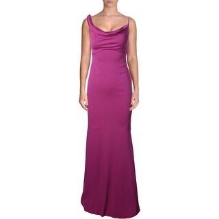 Nicole Miller Womens Aaymmetrical Prom Evening Dress