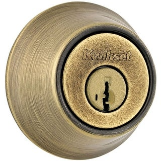 Kwikset 665-S Double Cylinder Deadbolt with SmartKey from the 660 Series (5 options available)