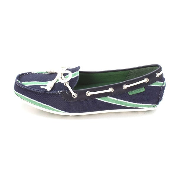 Cole Haan Womens D44173 Canvas Closed Toe Boat Shoes - 6