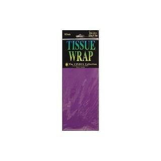 Cindus Tissue Wrap 20x20 10pc Solid Purple