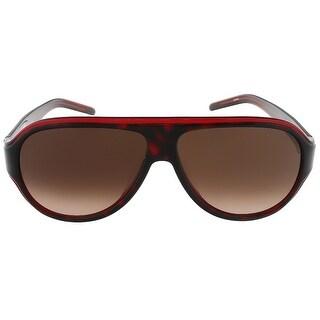 Lacoste L644S 214 Havana/Red Aviator sunglasses
