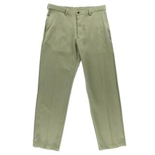 Haggar Mens Classic Fit Comfort Waist Dress Pants - 34/34