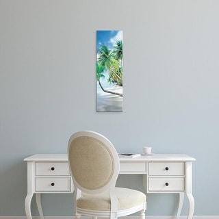 Easy Art Prints Panoramic Images's 'Pigeon Point Tobago' Premium Canvas Art