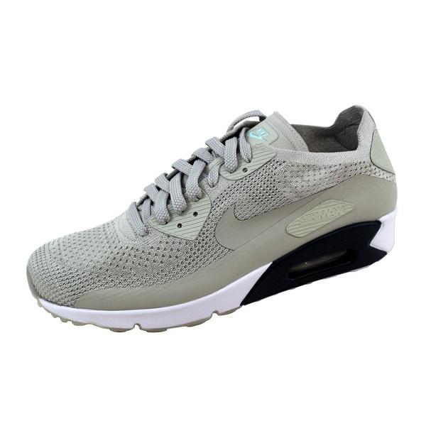 0fddfa54ef8e Shop Nike Men s Air Max 90 Ultra 2.0 Flyknit Pale Grey Pale Grey ...
