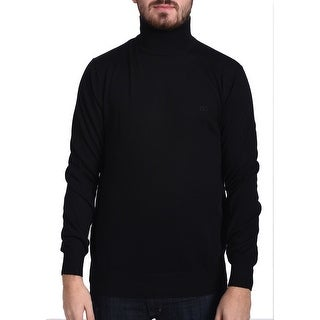 Valentino Men's Turtleneck Sweater Black