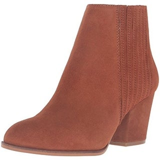 Steven By Steve Madden Womens Harleigh Suede Ankle Boots
