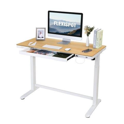 "Flexispot Standing Desk All-in-One Height Adjustable Standing Desk - 48"" FW8"