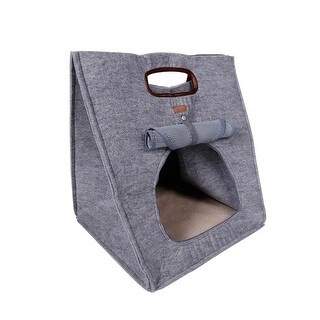 3 in 1 Multifunctional Portable Travel Pet Carrier Bag Purse Comfortable Puppy Dog Cat House Bed