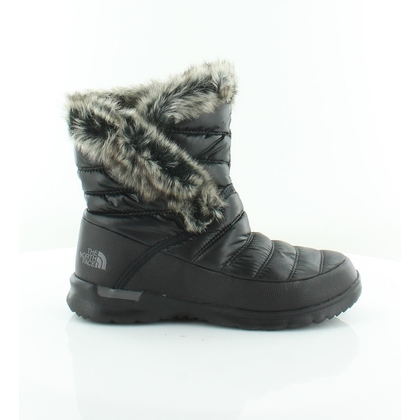 North Face Thermoball AAA Women's Boots Shiny TNF Black - 7