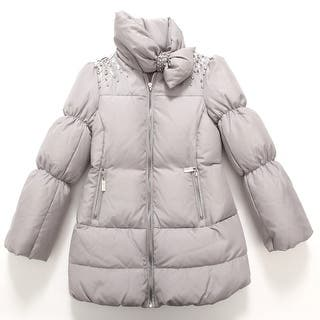 Richie House Baby Girls Grey Bejeweled Padded Coat 24M|https://ak1.ostkcdn.com/images/products/is/images/direct/0b6141f2fbf5ac68d659c0a67c8a7a6c3bd872a9/Richie-House-Baby-Girls-Grey-Bejeweled-Padded-Coat-24M.jpg?impolicy=medium