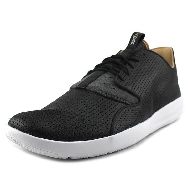 Jordan Eclipse LTR Men Round Toe Leather Black Sneakers