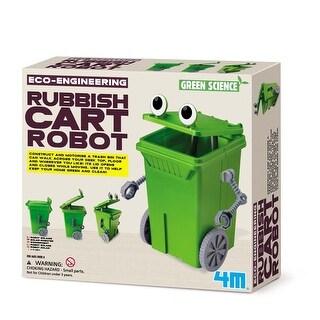 4M Eco Engineering Kit: Rubbish-Cart Robot