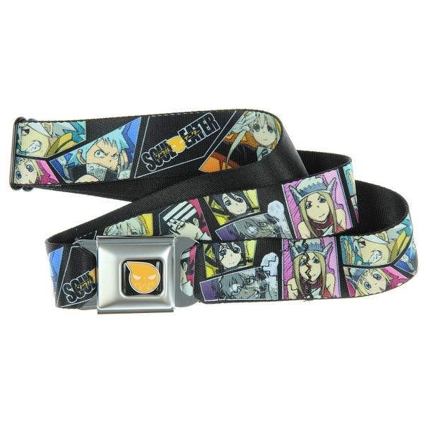Soul Eater Character Block Seatbelt Belt-Holds Pants Up
