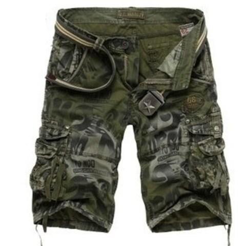 dadaozhimeng Fashion Summer Men Camoflage Matte Sport shorts