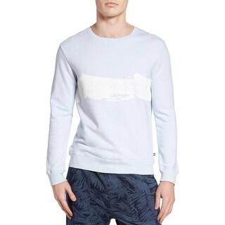 Sol Angeles Mens Spray Wave Graphic Pullover Sweatshirt X-Large XL Mist